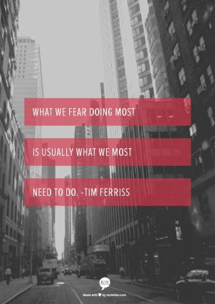 what we fear most