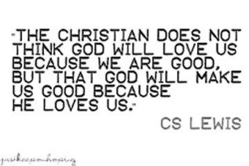 God will make us good