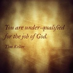 underqulified for God